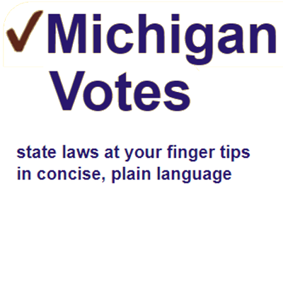 Michigan Votes - Michigan Legislation and Voting Record - Bills ...